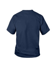 I Paused My Game to be Here TShirt gamers original Youth T-Shirt back