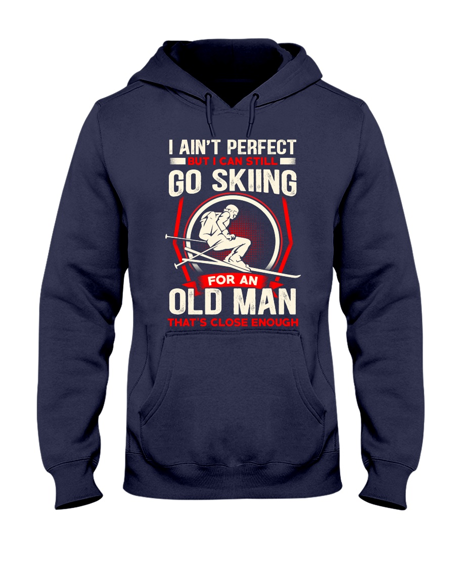 Perfect Old Man Hooded Sweatshirt