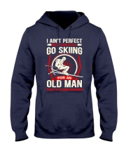Perfect Old Man Hooded Sweatshirt front