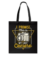 Last Camera Tote Bag thumbnail