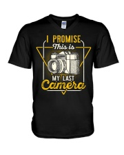 Last Camera V-Neck T-Shirt thumbnail
