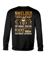 Mafia Welder Crewneck Sweatshirt thumbnail