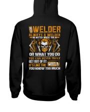 Mafia Welder Hooded Sweatshirt thumbnail