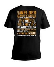 Mafia Welder V-Neck T-Shirt thumbnail
