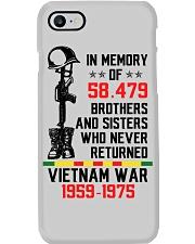 Memory Of Vietnam Veterans Phone Case thumbnail