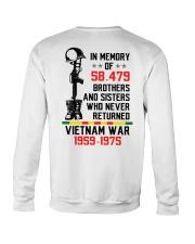 Memory Of Vietnam Veterans Crewneck Sweatshirt thumbnail
