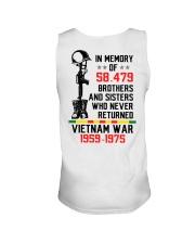 Memory Of Vietnam Veterans Unisex Tank thumbnail