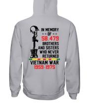 Memory Of Vietnam Veterans Hooded Sweatshirt thumbnail