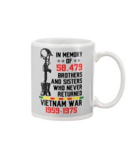 Memory Of Vietnam Veterans Mug thumbnail