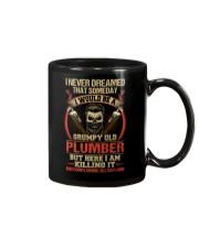 Grumpy Old Plumber Mug thumbnail