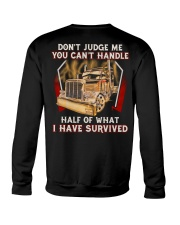 Dont Judge Crewneck Sweatshirt thumbnail