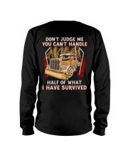 Dont Judge Long Sleeve Tee thumbnail