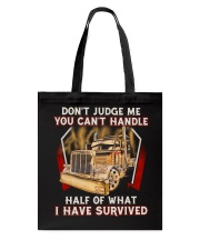 Dont Judge Tote Bag thumbnail