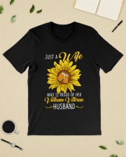 Just Vietnam Veteran Wife Classic T-Shirt lifestyle-mens-crewneck-front-19