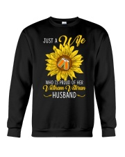Just Vietnam Veteran Wife Crewneck Sweatshirt thumbnail