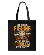 Go Fishing Tote Bag thumbnail