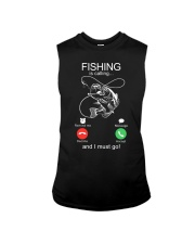Fishing Calling Sleeveless Tee tile