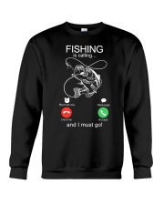 Fishing Calling Crewneck Sweatshirt thumbnail