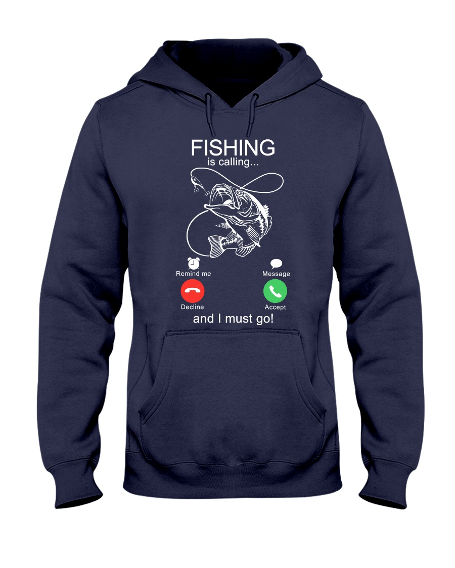 Fishing Calling Hooded Sweatshirt