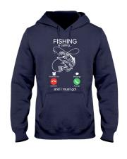 Fishing Calling Hooded Sweatshirt front
