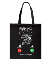 Fishing Calling Tote Bag tile