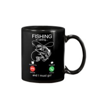 Fishing Calling Mug tile