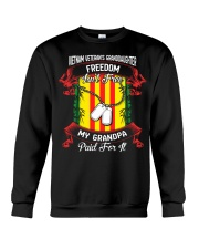 My Grandpa Paid For Freedom Crewneck Sweatshirt thumbnail