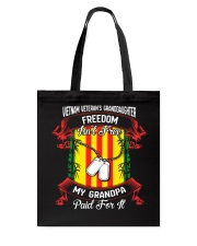 My Grandpa Paid For Freedom Tote Bag thumbnail