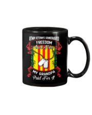 My Grandpa Paid For Freedom Mug thumbnail
