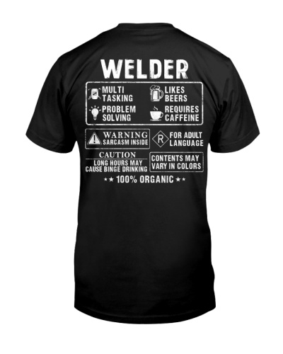 Welder Info