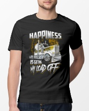 Trucker Happiness Classic T-Shirt lifestyle-mens-crewneck-front-13