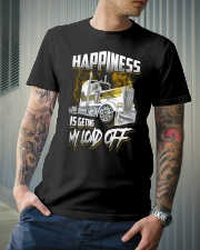 Trucker Happiness Classic T-Shirt lifestyle-mens-crewneck-front-6