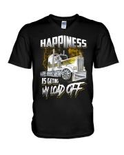 Trucker Happiness V-Neck T-Shirt thumbnail