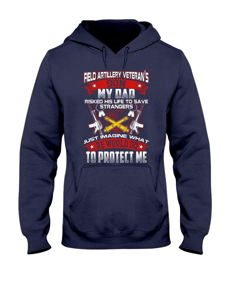 Field Artillery Veteran Son Hooded Sweatshirt