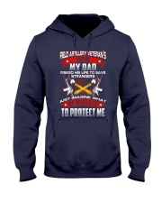 Field Artillery Veteran Son Hooded Sweatshirt front