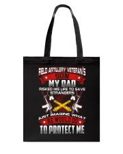 Field Artillery Veteran Son Tote Bag thumbnail
