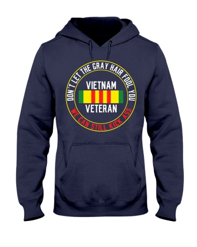 Vietnam Veteran Gray Hair