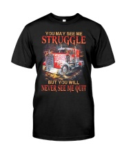 Never Quit Classic T-Shirt front