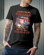 Never Quit Classic T-Shirt lifestyle-mens-crewneck-front-6