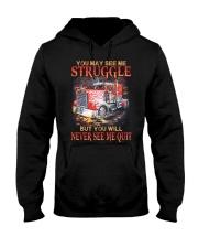 Never Quit Hooded Sweatshirt thumbnail