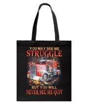 Never Quit Tote Bag thumbnail