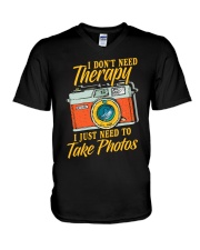 Photo Therapy 2 V-Neck T-Shirt thumbnail