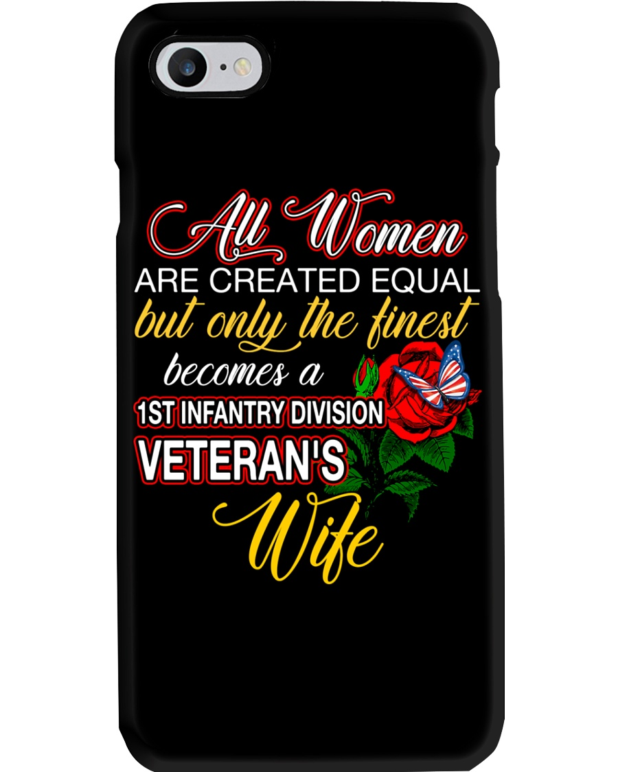Finest Wife 1st Infantry Phone Case