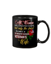 Finest Wife 1st Infantry Mug thumbnail