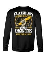 Electrician Hero Crewneck Sweatshirt thumbnail