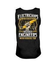 Electrician Hero Unisex Tank thumbnail