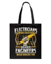Electrician Hero Tote Bag thumbnail