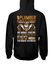 Mafia Plumber Hooded Sweatshirt thumbnail