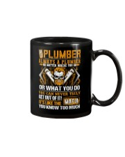 Mafia Plumber Mug thumbnail