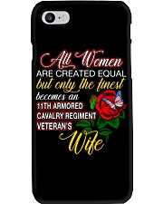 Finest Wife 11th Armored Cavalry Regiment Phone Case thumbnail